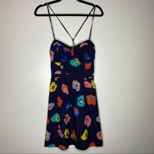American Eagle Strappy Back Floral Print Dress